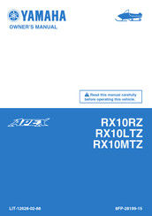 Yamaha Apex RX10RZ Owner's Manual