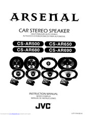 JVC Arsenal CS-AR690 Instruction Manual