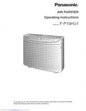 Panasonic FP10HU1 Operating Instructions Manual