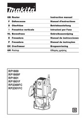 Makita RP2301FC Instruction Manual