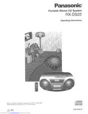 Panasonic RX-DS22 Operating Instructions Manual