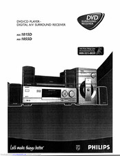 Philips MX-1015D Operating Instructions Manual