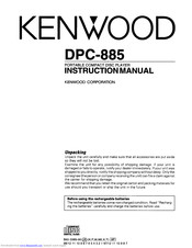 KENWOOD DPC-885 Instruction Manual