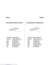 Samsung SC-M105 Owner's Instruction Book