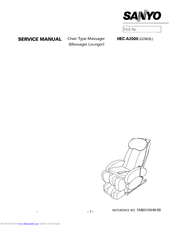 SANYO HEC-A2000 Service Manual