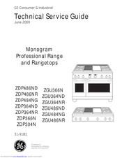 Ge Monogram ZGU366N Manuals | ManualsLib | Ge Monogram Stove Wiring Diagram |  | ManualsLib