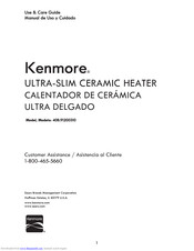 Kenmore 408.91200310 Use & Care Manual