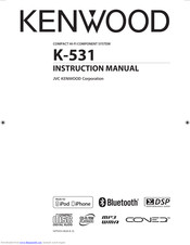 Kenwood K-531 Instruction Manual