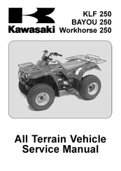 Kawasaki Bayou 250 Manuals Manualslib