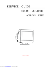 Acer AC511 SERIES Service Manual