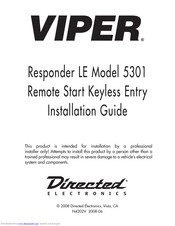[SCHEMATICS_48EU]  VIPER 5301 INSTALLATION MANUAL Pdf Download | ManualsLib | Viper 5501 Remote Starter Wiring Diagram |  | ManualsLib