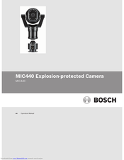 Bosch MIC Series 440 Operation Manual