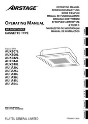 Fujitsu Airstage AUXB07L Operating Manual