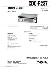 [DIAGRAM_5LK]  Aiwa CDC-R237 Manuals | ManualsLib | Aiwa Cdc Wiring Diagram |  | ManualsLib