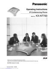 Panasonic VoiceSonic KX-NT700 Operating Instructions Manual