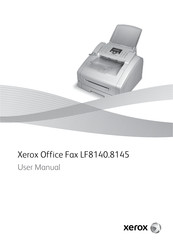 Xerox Office fax LF8140 User Manual