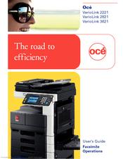 oce variolink 2821 manuals rh manualslib com Oce Large Format Printers Oce Canon