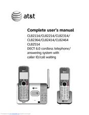 at&t model cl82214 manual
