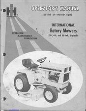 cub cadet z50 manual