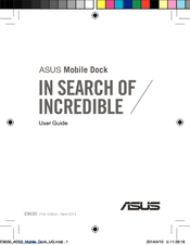 Asus Mobile Dock User Manual