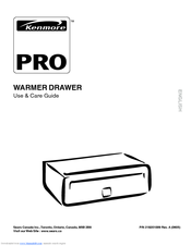 Kenmore PRO Use & Care Manual