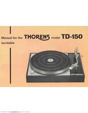 thorens td 150 manuals rh manualslib com User Guide Template User Manual