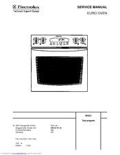 Oven aeg-electrolux kb9800em preview manual for free | page: 1.