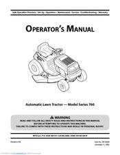 mtd 604 series service manual