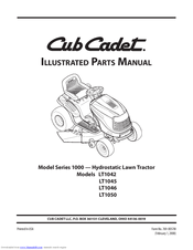 cub cadet lt1045 manuals rh manualslib com Cub Cadet LT1045 Riding Mower Cub Cadet LT1045 Engine Diagrams