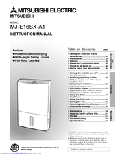 Mitsubishi Electric MJ-E16SX-A1 Instruction Manual
