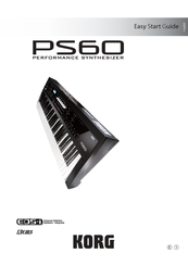Korg PS60 Easy Start Manual