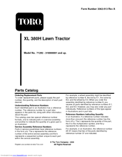 toro wheel horse xl h manuals toro wheel horse xl 380h parts catalog