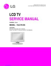 lg 15lc1r zg manuals rh manualslib com LG GS170 Manual LG Phone Manuals User Guides