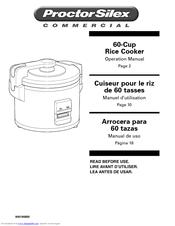 proctor silex 60 cup rice cooker manuals rh manualslib com proctor silex iron manual proctor silex manual pdf