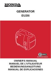 honda eu20i owner s manual pdf download rh manualslib com honda eu20i service manual pdf honda generator eu20i repair manual