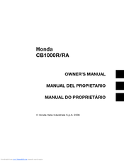 Honda Cb1000r Owners Manual Pdf Download