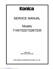 Konica minolta 7145 service manual download