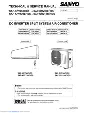 sanyo sap-krv126ehds manuals auto air conditioner wiring diagram
