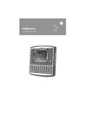 Motorola VC6096 Quick Reference Manual