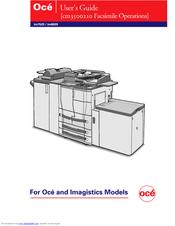 oce im6020 manuals rh manualslib com Oce Imagistics Copiers Oce Printers and Copiers