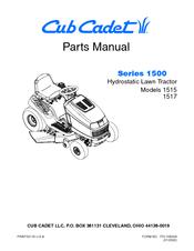 Cub Cadet 1517 Manuals