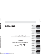 Toshiba TOSVERT VF-AS1 Series Instruction Manual