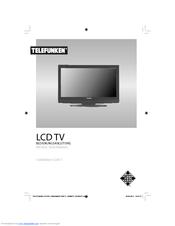 Telefunken T26KWM875 DVB-T Manuals