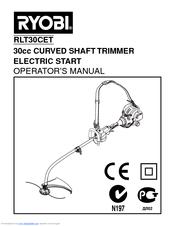 ryobi rlt30cet manuals rh manualslib com ryobi strimmer instruction manual Ryobi Strimmer On Wheels