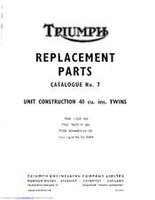 triumph trophy manual free download
