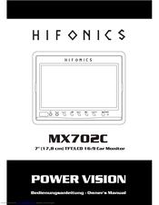 hifonics mxc manuals