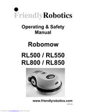 friendly robotics robomow rl500 operating safety manual pdf download