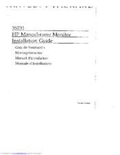 HP 35731 Installation Manual