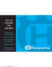 husqvarna wr 250 2002 owner s manual pdf download rh manualslib com 2009 husqvarna wr 250 manual 2000 husqvarna wr 250 manual