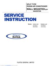 fujitsu aou09rl2 manuals rh manualslib com Service Station Owner's Manual
